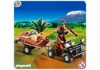 Playmobil Quad safari et braconnier 4834