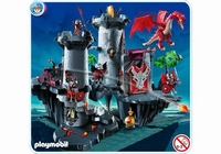 Playmobil Citadelle du dragon rouge 4835