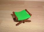 Siège assise verte Neuf
