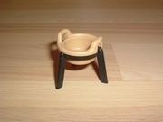 Marmite sur trépied