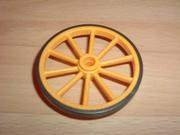 Roue jaune 5,5 cm
