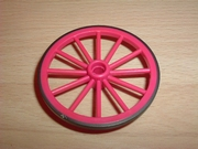 Roue rose 5,5 cm