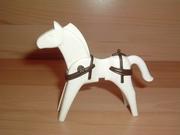 Equipement marron pour cheval