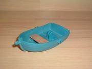 Barque bleue