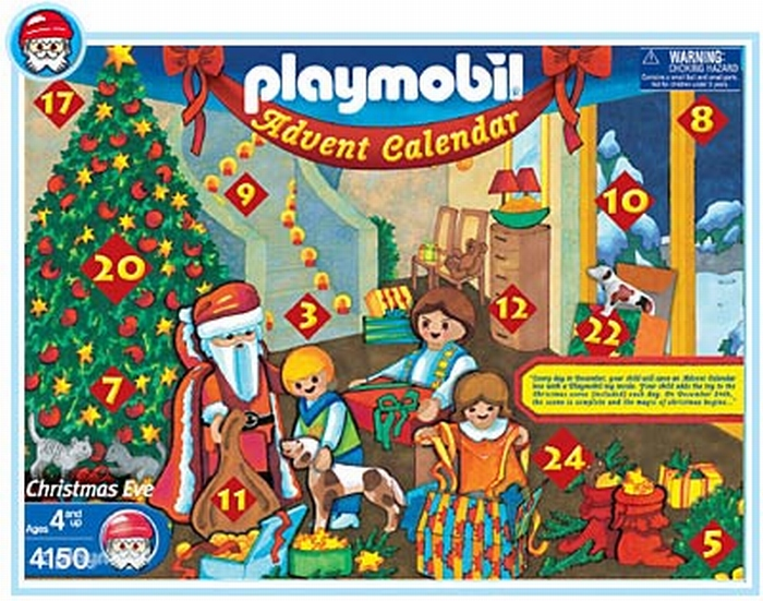 Playmobil Calendrier.Playmobil Calendrier De L Avent Enfants Cheminee 4150