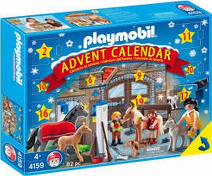 Calendrier L Avent Playmobil.Playmobil Calendrier Avent Centre Equestre 4159